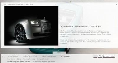 Rolls Royce DAWN Configurator 13