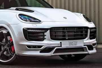 TechArt Launches 700HP 2016 Porsche Cayenne Turbo Powerkit