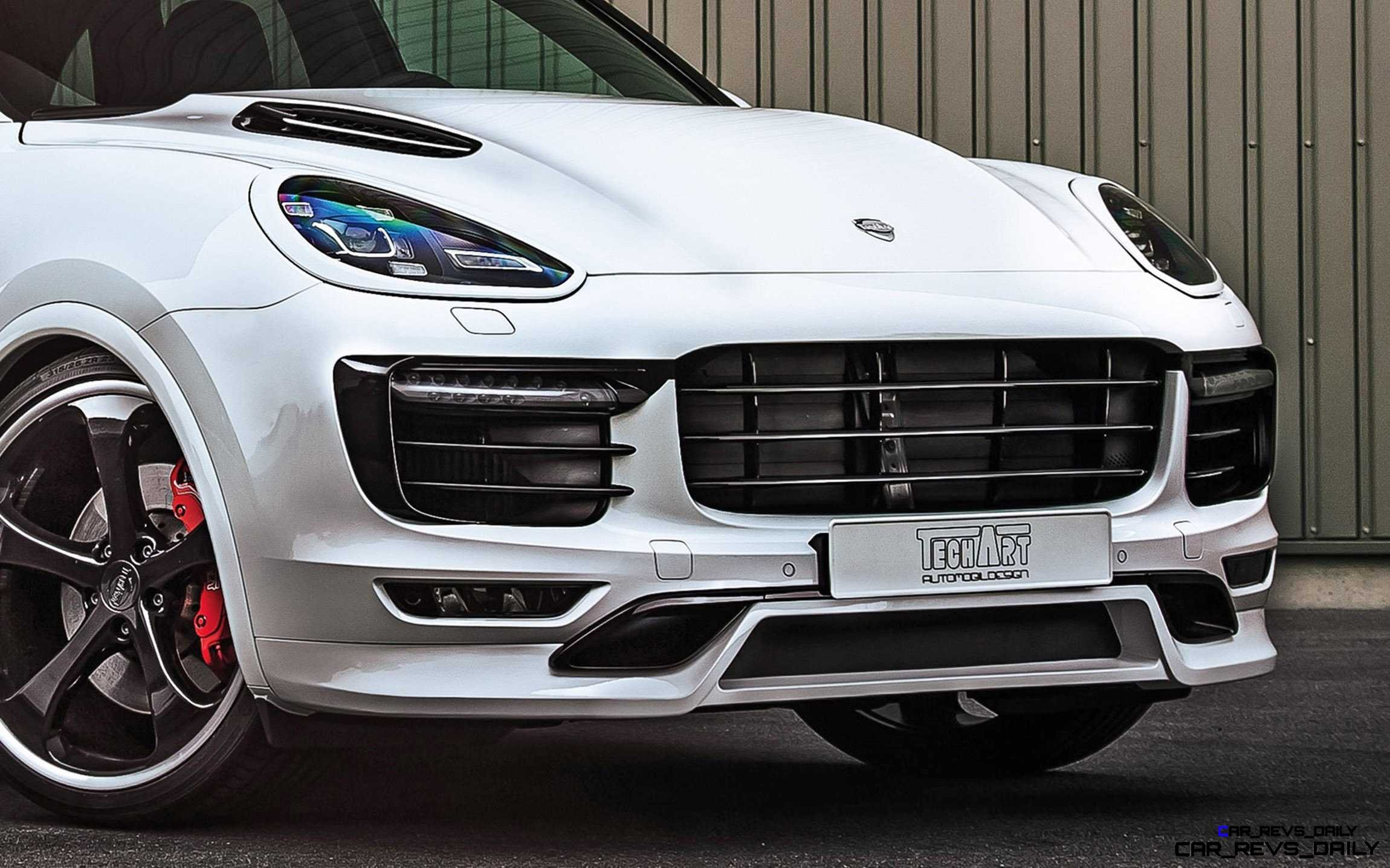 TechArt 2016 Porsche Cayenne Turbo Powerkit 5