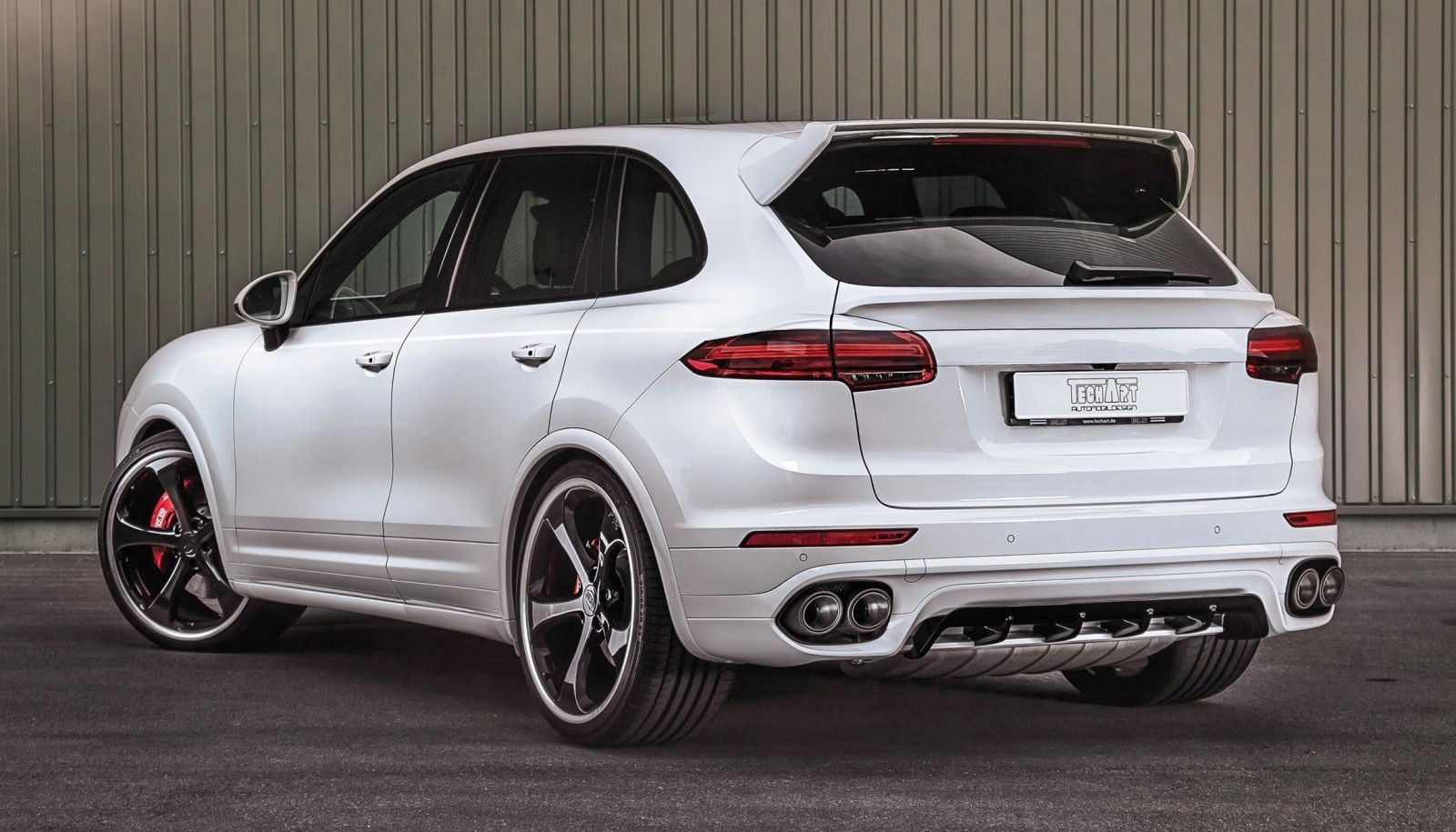 techart porsche cayenne turbo powerkit. Black Bedroom Furniture Sets. Home Design Ideas
