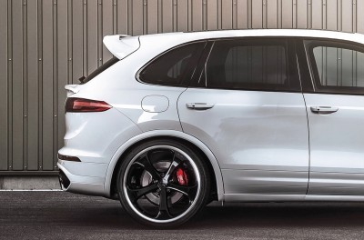 TechArt 2016 Porsche Cayenne Turbo Powerkit 9