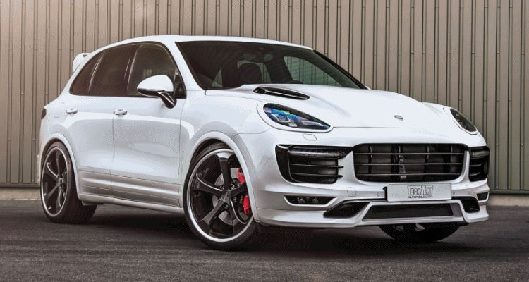 TechArt 2016 Porsche Cayenne Turbo Powerkit