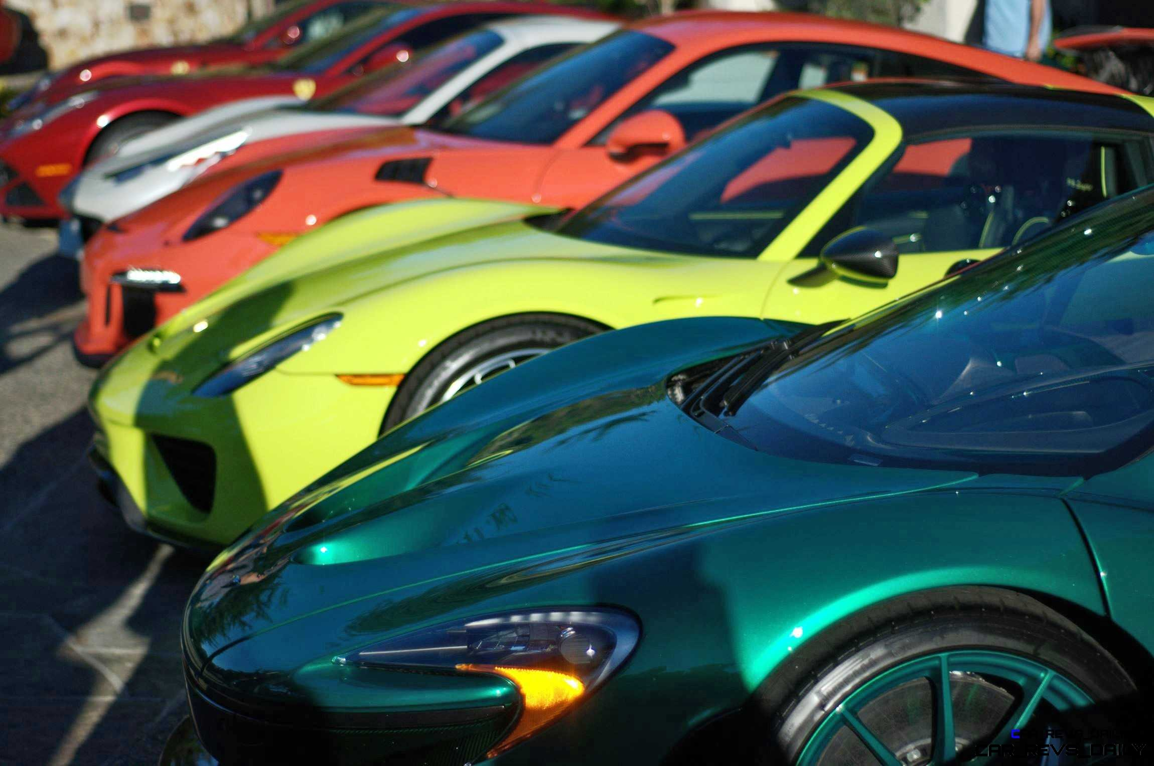 Top 20 MOST WANTED Supercars from Pebble Beach 2015 28