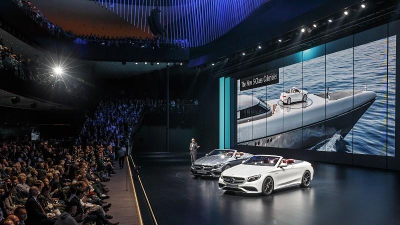 Mercedes-Benz Cars auf der IAA 2015Mercedes-Benz Cars at the IAA 2015