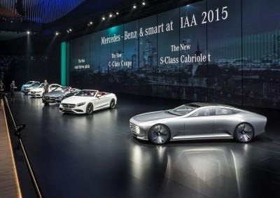 Update1 - 2015 Mercedes-Benz Concept IAA + Frankfurt S-Class Cabrio Reveal 7