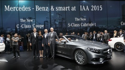 Mercedes-Benz Cars auf der IAA 2015 Mercedes-Benz Cars at the IAA 2015