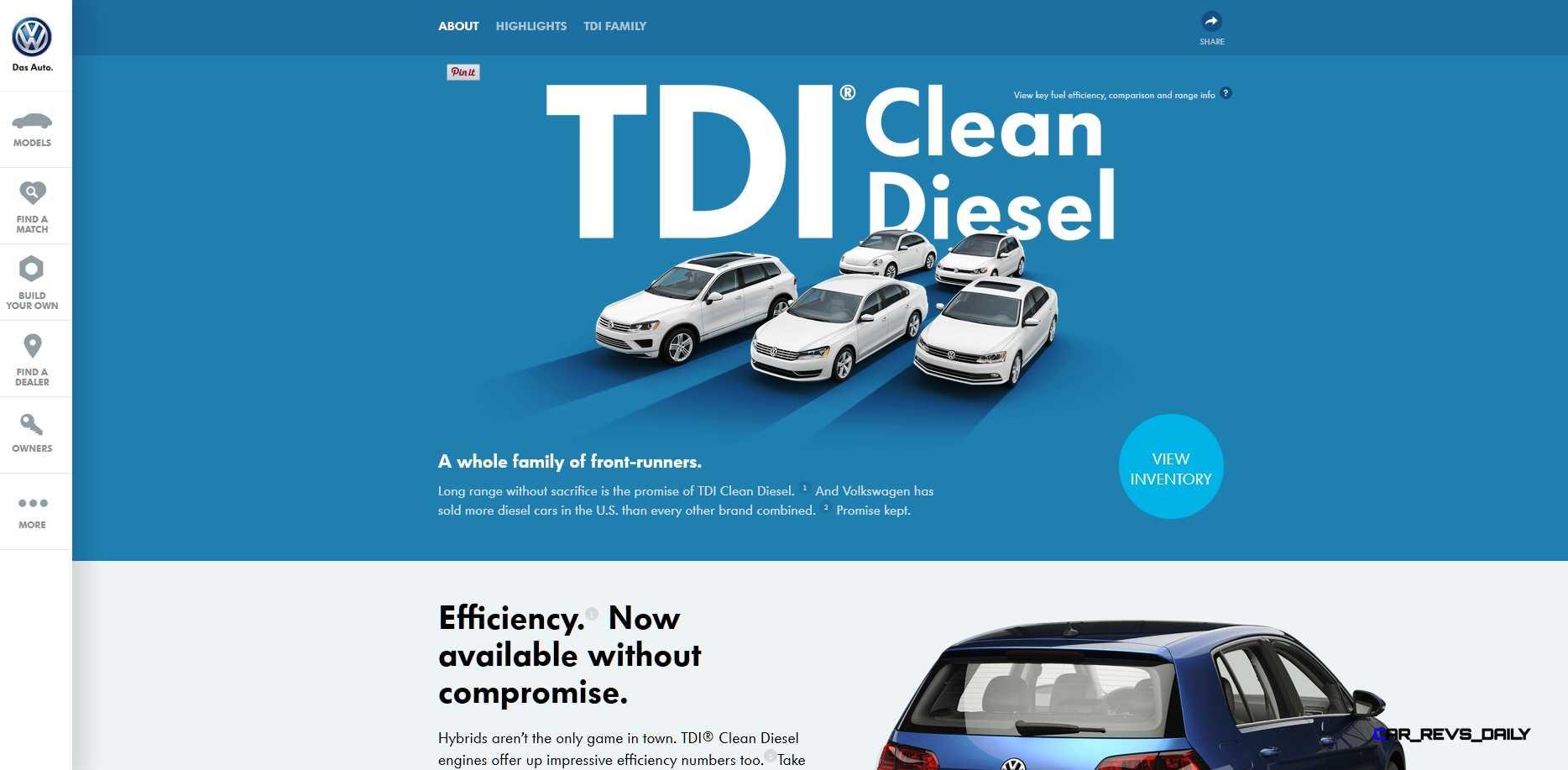 Vw Clean Diesel >> Volkswagen Tdi Clean Diesel Epa Violation 10