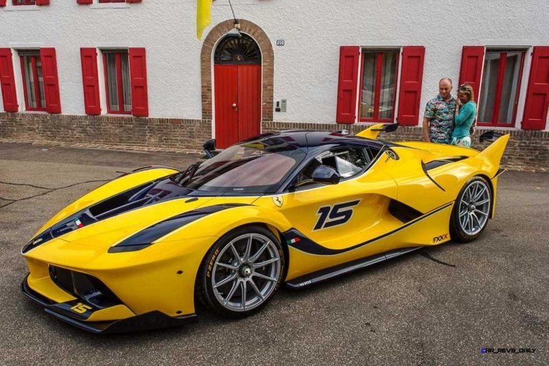 Yellow LaFerrari FXX K 2