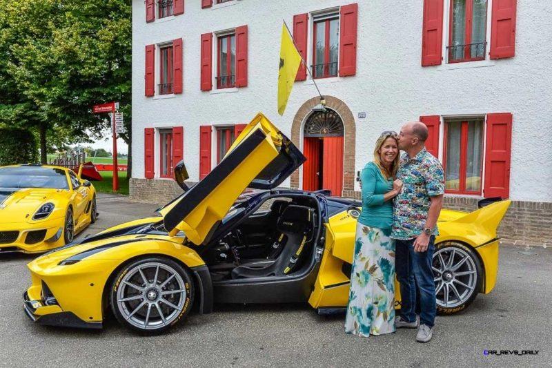 Yellow LaFerrari FXX K 3
