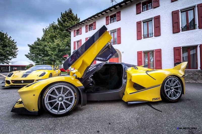 Yellow LaFerrari FXX K 5