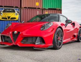 4.0s ZENDER Alfa Romeo 4C is Hardcore Style and Speed Upgrade