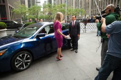Carlos Ghosn, president e CEO da Nissan, apresenta novo Altima
