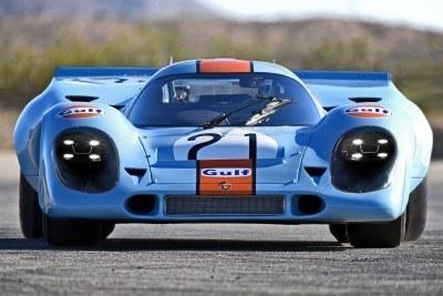 porsche 917K rendered resto-mod