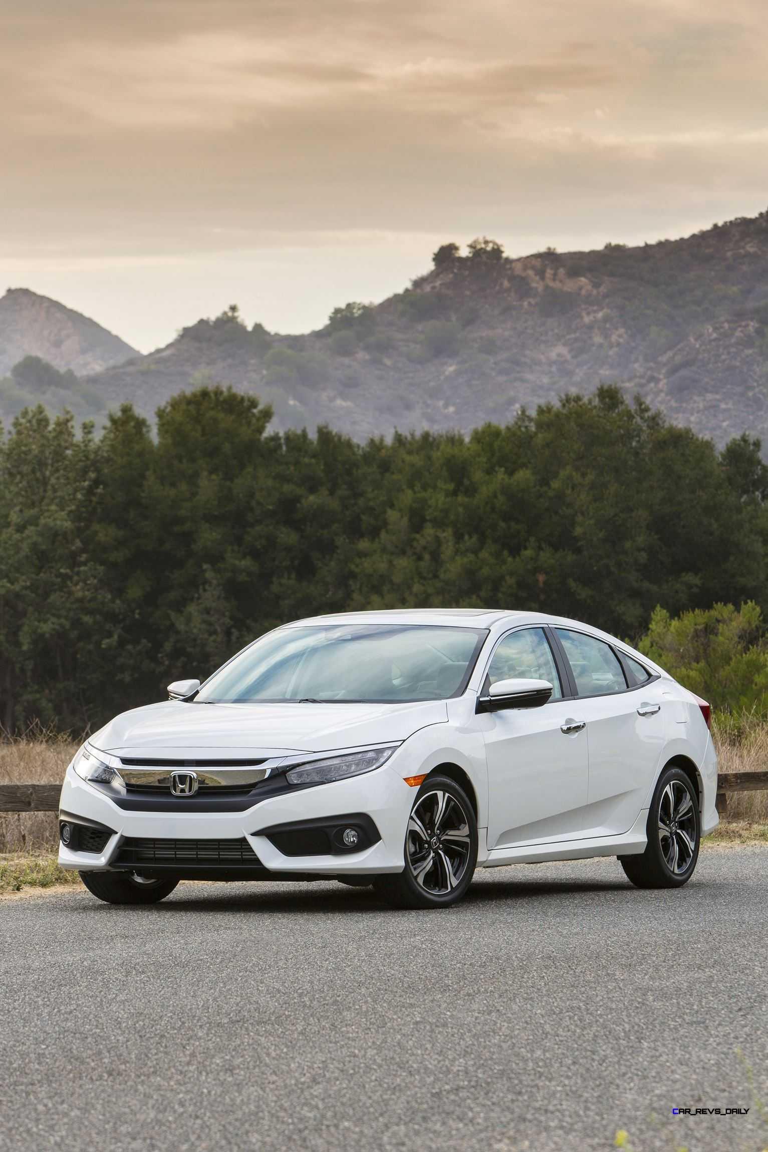 honda civic sedan full tech specs    upgraded features detail