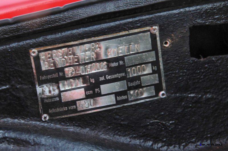 1962 APAL-Porsche 1600 GT Coupe 17