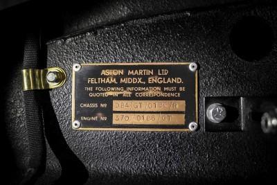1962 Aston Martin DB4GT by Zagato 17