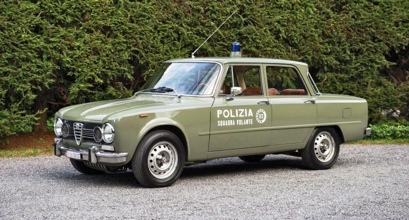 1966 Alfa Romeo Giulia Super POLIZIA SQUADRA VOLANTE 1