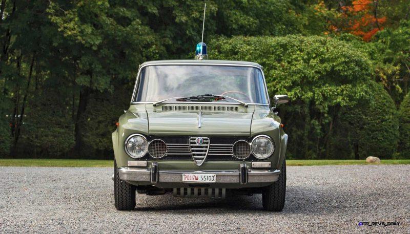 1966 Alfa Romeo Giulia Super POLIZIA SQUADRA VOLANTE 11