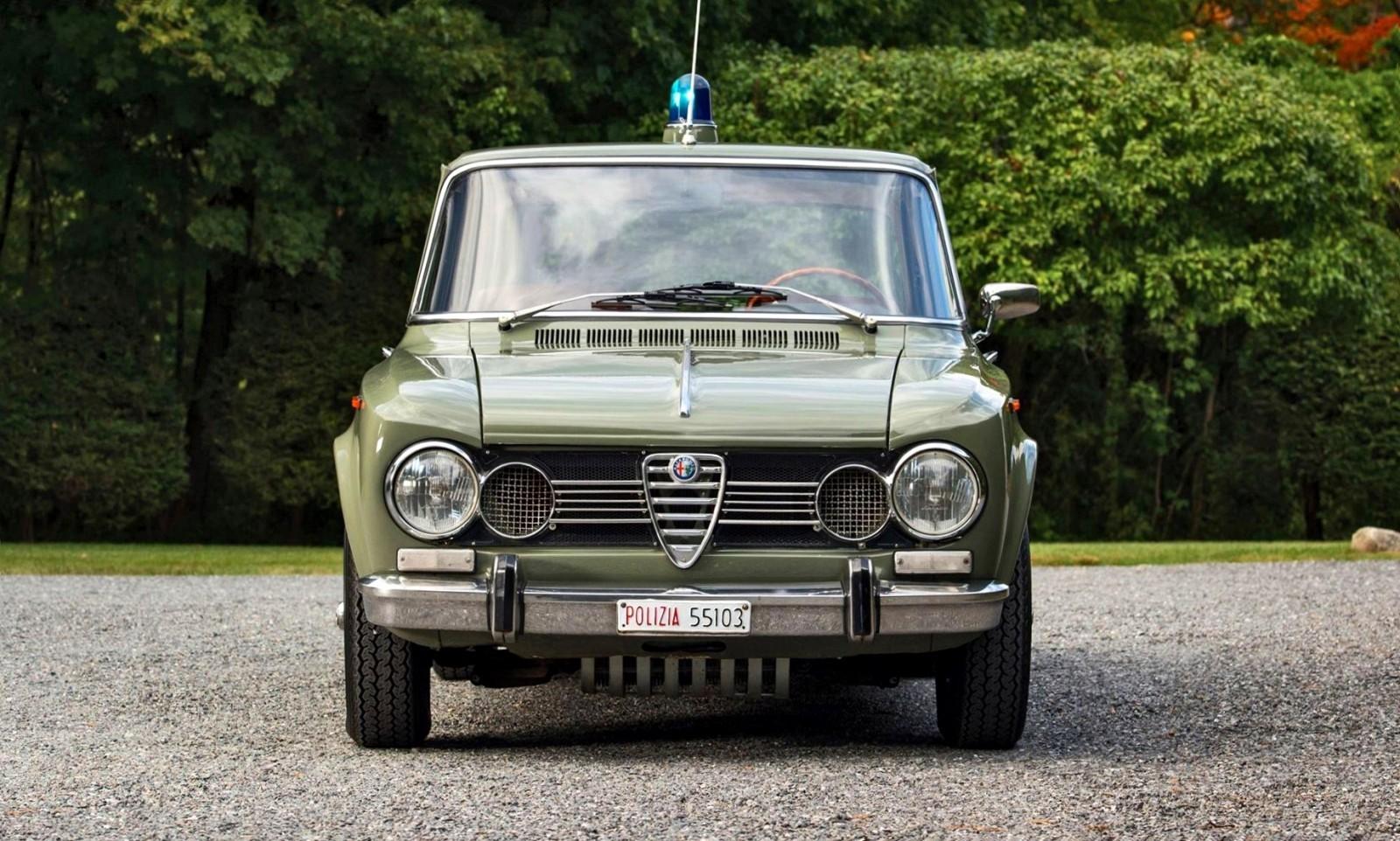 1966 alfa romeo giulia super polizia squadra volante. Black Bedroom Furniture Sets. Home Design Ideas