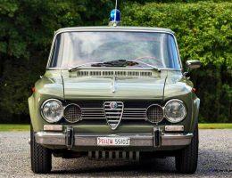 1966 Alfa Romeo Giulia Super POLIZIA SQUADRA VOLANTE – RM Arizona 2016 Preview
