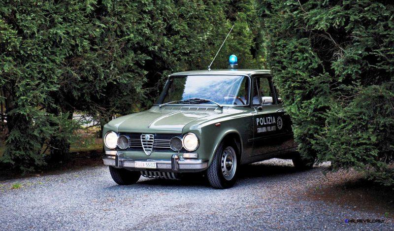 1966 Alfa Romeo Giulia Super POLIZIA SQUADRA VOLANTE 23