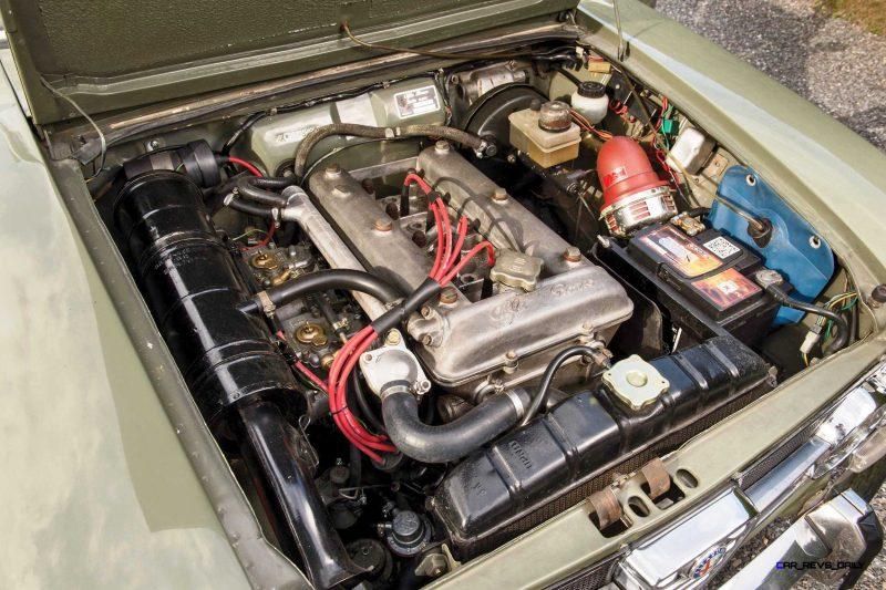 1966 Alfa Romeo Giulia Super POLIZIA SQUADRA VOLANTE 3