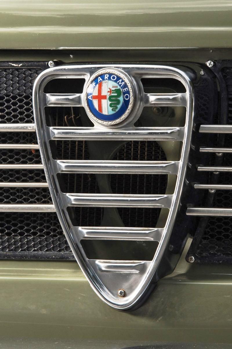 1966 Alfa Romeo Giulia Super POLIZIA SQUADRA VOLANTE 6