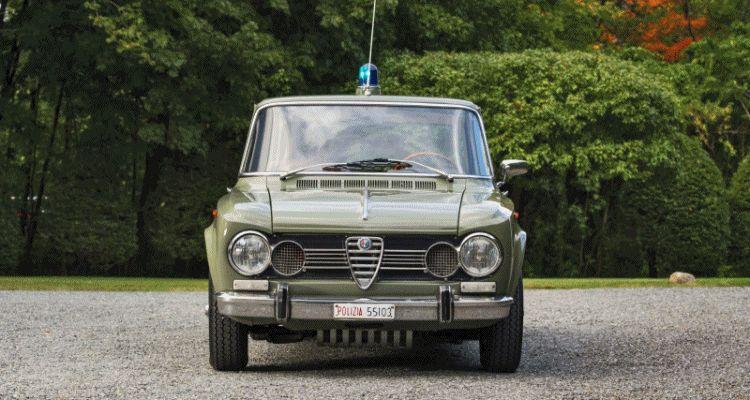 1966 Alfa Romeo Giulia Super POLIZIA SQUADRA VOLANTE