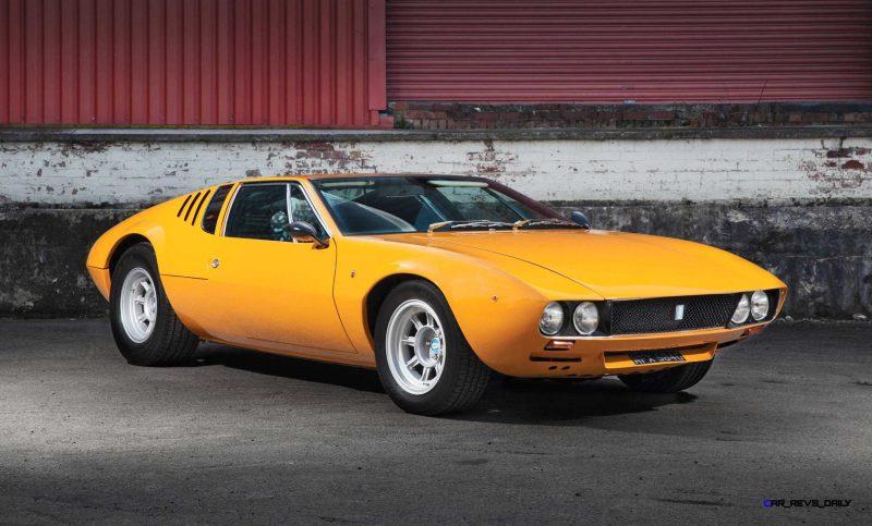 1969 DeTomaso Mangusta by Ghia 1
