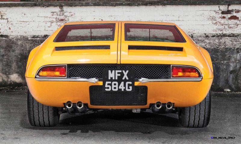 1969 DeTomaso Mangusta by Ghia 14