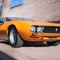 RM NY 2015 Preview - 1969 DeTomaso Mangusta by Ghia Is Flawless in Sunburst Orange