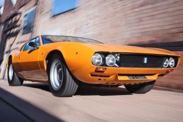 RM NY 2015 Preview - 1969 DeTomaso Mangusta by Ghia Is Flawless in Sunburst Orange