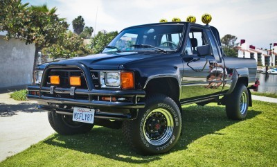 1985 Toyota Pickup Truck Back to the Future 3