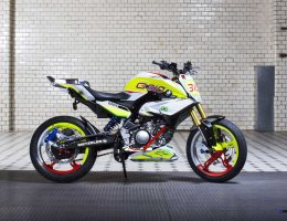 BMW Stunt G310 Is Hyper-Agile Bike Concept for Sao Paolo