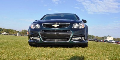 2015 Chevrolet SS Green 2