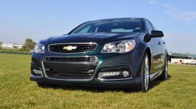 2015 Chevrolet SS Green 4