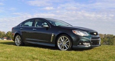 2015 Chevrolet SS Green 40
