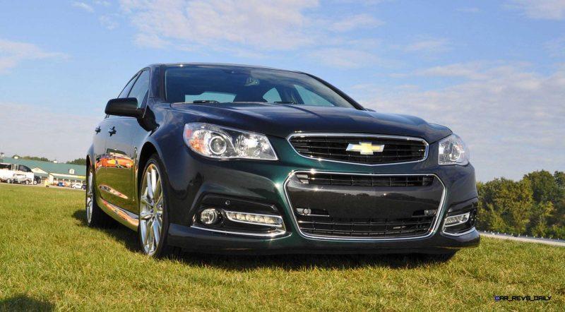 2015 Chevrolet SS Green 43