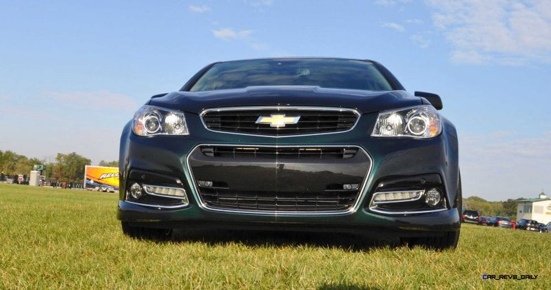 2015 Chevrolet SS Green 50