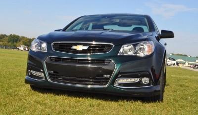 2015 Chevrolet SS Green 56