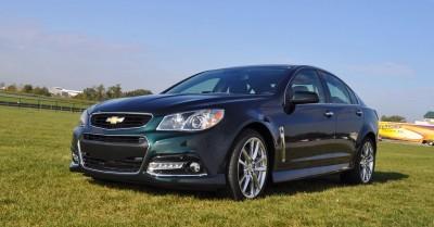 2015 Chevrolet SS Green 6