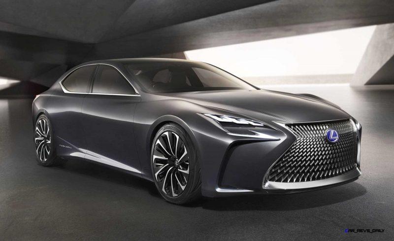 2015 Lexus LF-FC Flagship Concept 16