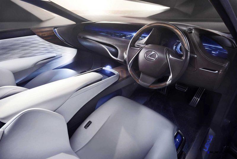 2015 Lexus LF-FC Flagship Concept 28