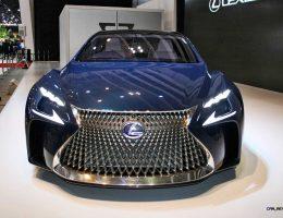 Lexus LF-FC Flagship Concept Teases Next-Gen SuperLimo at Tokyo Auto Show