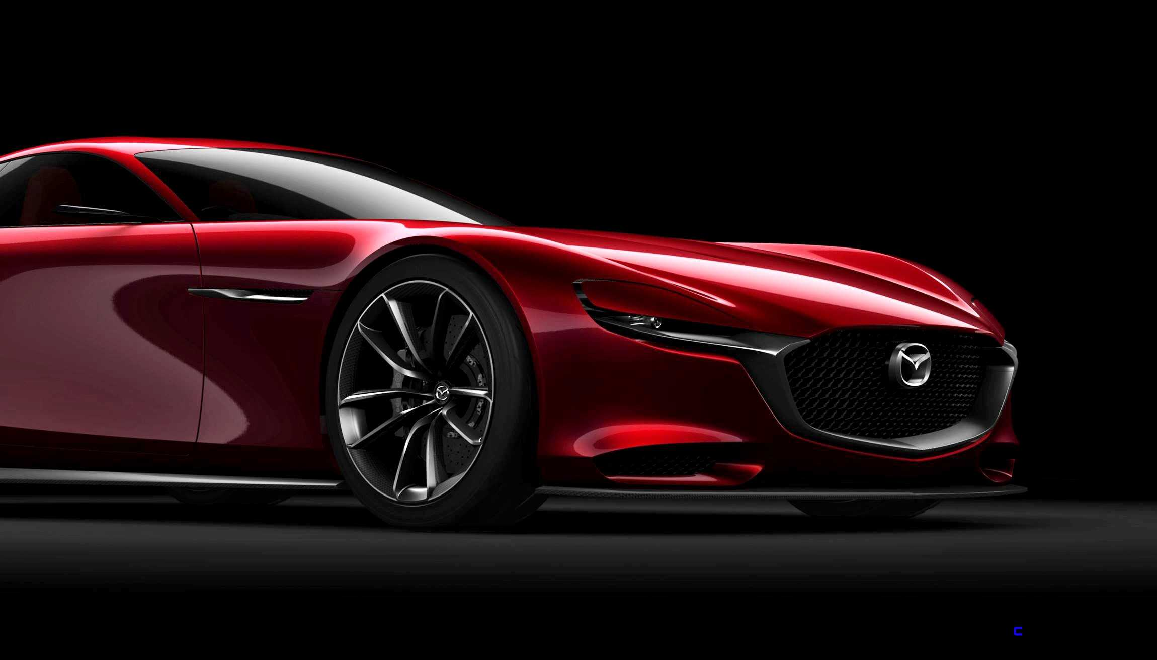 2015 Mazda RX-VISION Concept Is All-New SkyActiv-R Super GT