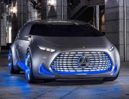 2015 Mercedes-Benz Vision Tokyo is Yuppy-Chic Hydrogen PHEV