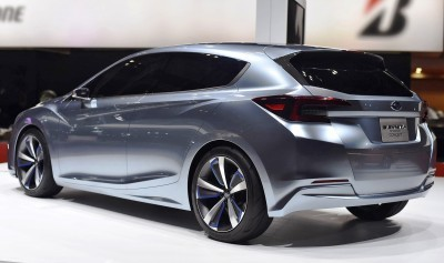 2015 Subaru Impreza 5-Door Concept 3