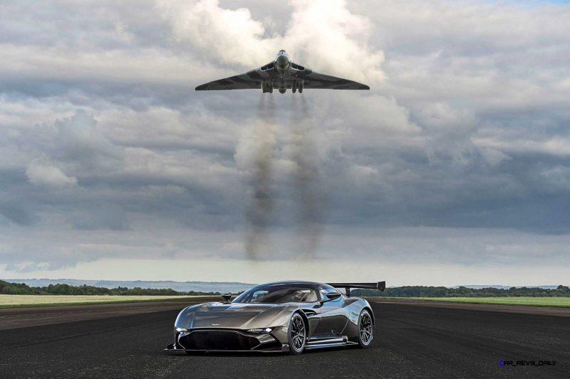 2016 Aston Martin VULCAN meets Avro VULCAN Bomber 1