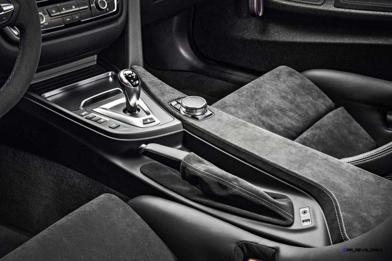 2016 BMW M4 GTS Clubsport Interior 6