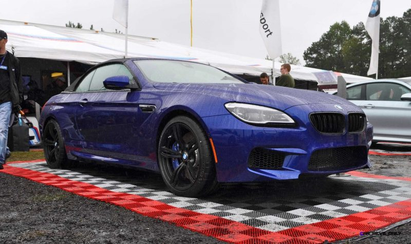 2016 BMW M6 Convertible - San Merino Blue 10